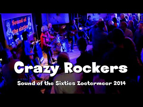The Crazy Rockers - Sound of the Sixties nov. 2014