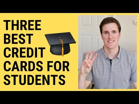 Best Credit Cards For Students:  My Top 3 Student Credit Cards