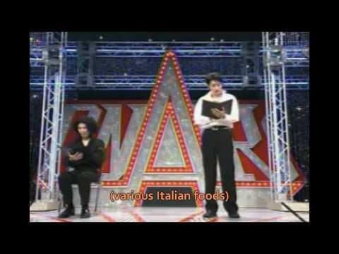 Italian Japanese Language School (Rahmens) - Subtitled