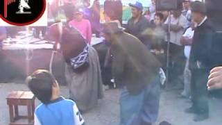 OSVALDO Y SANDRA EL BASTONCITO CON LOS RANCHEROS DEL SUR