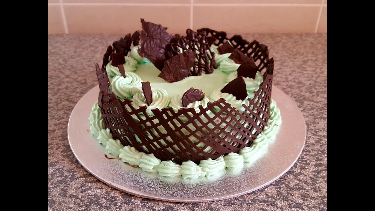 Chocolate Cake Recipe With Fresh Cream Frosting Chocolate Lace