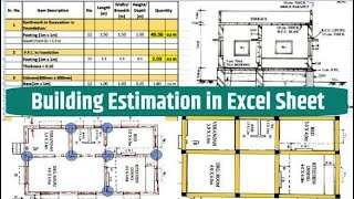 Gambar cover Construction Estimating using Excel || Free Download Excel Sheet