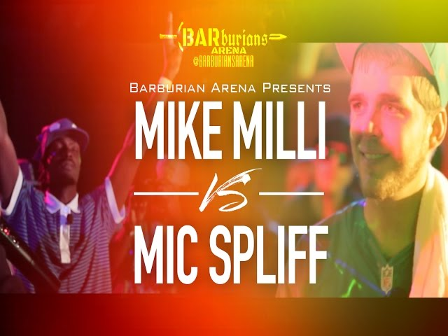 "Barburians Arena Presents ""THE ASCENSION"" Mike Milli vs Mic Spliff"