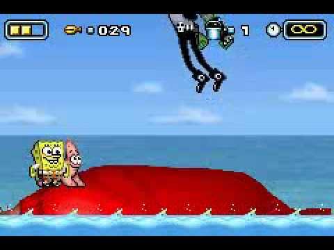 the spongebob squarepants movie gba boss 6a dennis