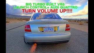 750WHP+ WIDEBODY AUDI S4 BIG TURBO VR6 FIRST DRIVE | VOLUME UP |