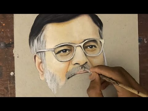 Painting of Comedy actor vivek | RIP | oil Painting,
