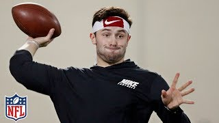Baker Mayfield's Pro Day Highlights & Analysis | NFL thumbnail