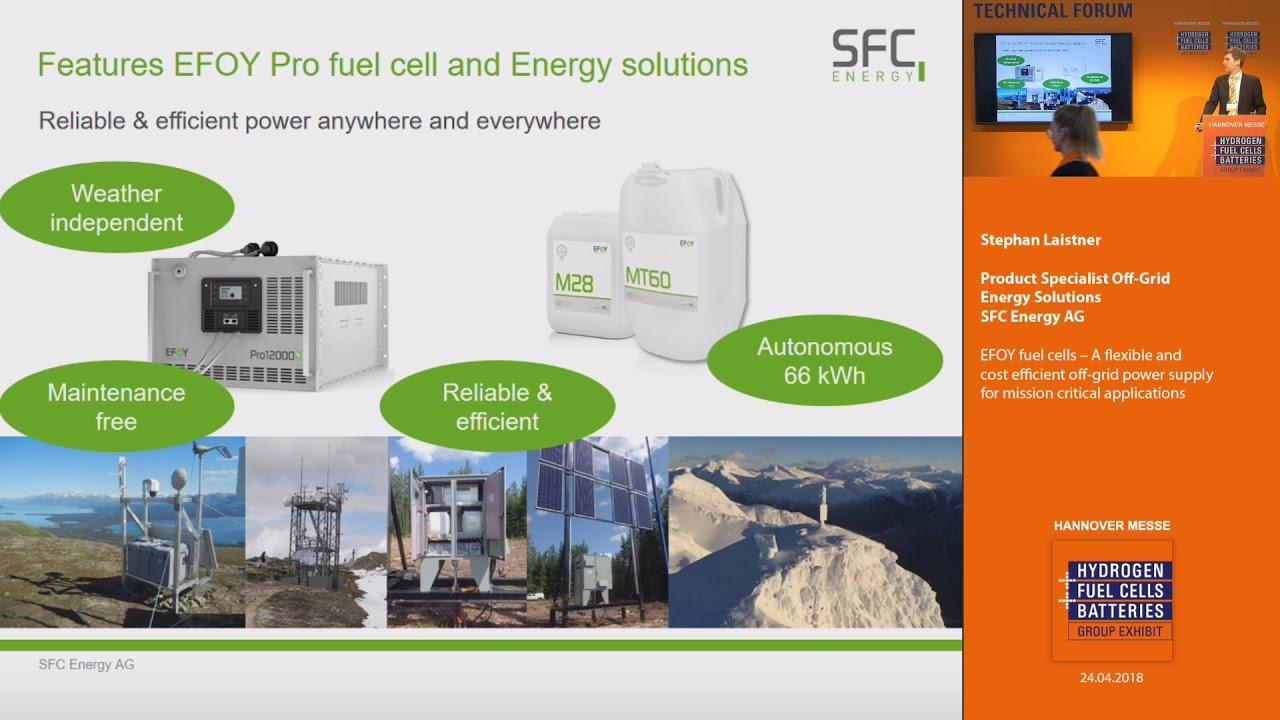 EFOY fuel cells