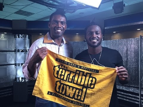 Antonio Brown and Randy Moss interview