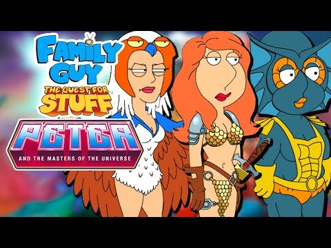 MER-MEG AND WEEK 3   Family Guy: The Quest For Stuff - He-Man Event (2018)