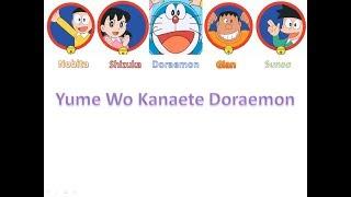 Yume Wo Kanaete Doraemon Color Coded