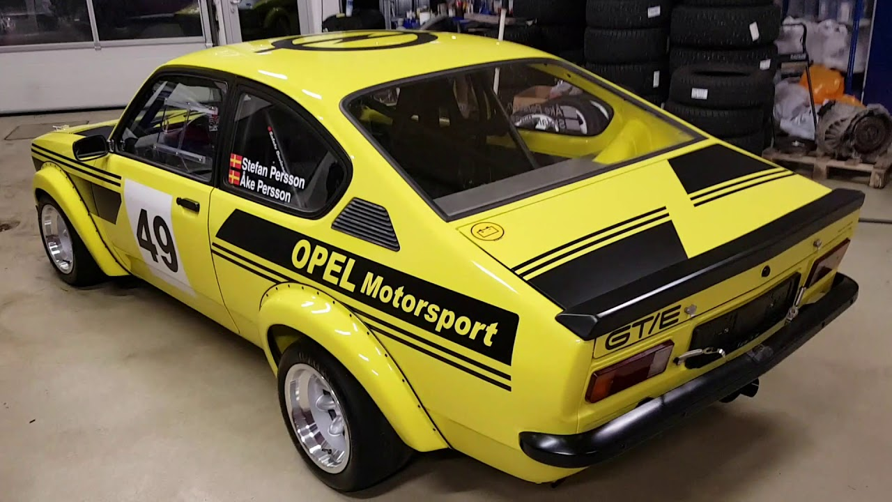 opel kadett c gte racing cupe - youtube
