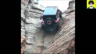 Jeep - Impossible Hill Climb Offroad Extreme Obstacle (PART-1)