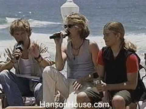 Hanson on MTV KaraokeShow