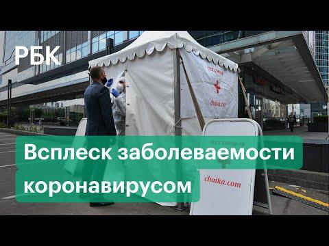 Коронавирус: всплеск заболеваемости в Москве, самоизоляция для пожилых. Коронавирус в России 25.09