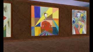 Abraham Dayan - Solo 3D Virtual Exhibition - Women
