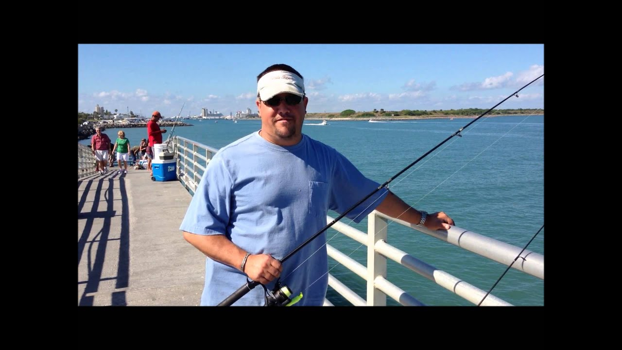 Pete 39 s first fishing lesson at port canaveral florida for Port canaveral fishing report