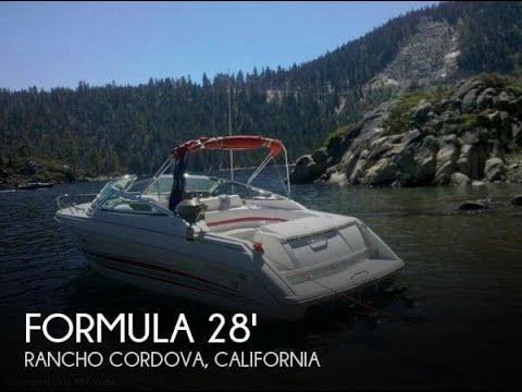 [UNAVAILABLE] Used 2004 Formula 280 Sun Sport in Rancho Cordova, California