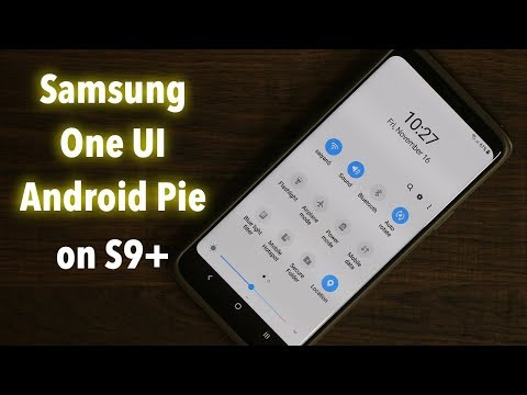 Samsung One UI running on Galaxy S9 Plus w/ Android Pie 9.0