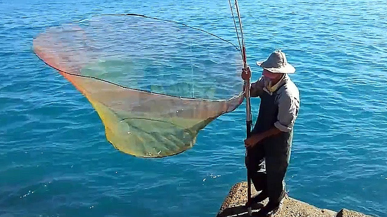 как ловят рыбу на зыбку видео