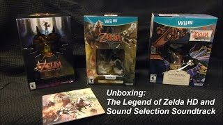 Unboxing: The Legend of Zelda: Twilight Princess HD and Sound Selection Soundtrack CD