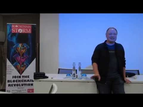 Blockchain Storm Debut in Geneva Sep 2016 featuring Brian Behlendorf, Hyperledger