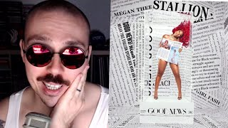 "Fantano REACTION to Megan Thee Stallion ""Good News"" ALBUM (theneedledrop)"