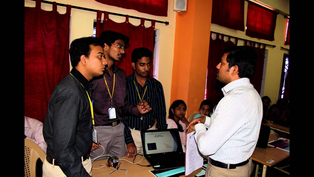 Mini Project Expo14 Department Of Cse Smvec Youtube Grieteeeprojects11 Control Electrical Appliances Using Remote