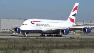 10th BRITISH AIRWAYS A380 - First Testflight at Airbus Plant Hamburg, G-XLEJ, MSN 192