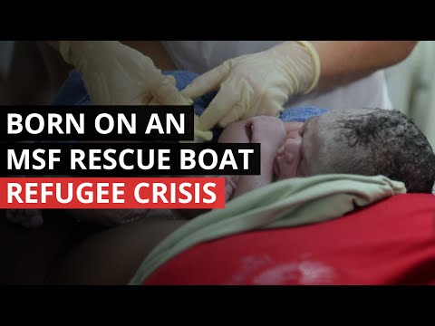 REFUGEE CRISIS | Born at Sea - World's Youngest Refugee
