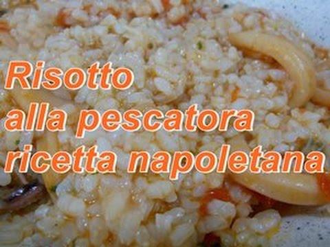 Riso alla pescatora ricetta napoletana