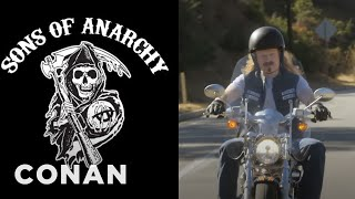 "Conan's ""Sons Of Anarchy"" Cold Open  - CONAN on TBS"