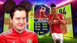 BETTER THAN MARTIAL?! BEST EVER 84 INFORM MARCUS RASHFORD SQUAD! FIFA 18 ULTIMATE TEAM