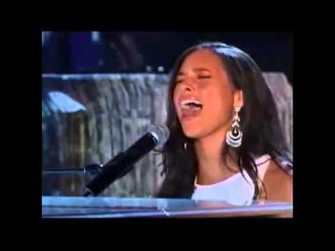 Alicia Keys ft  Jamie Foxx    If I Ain't Got You   Georgia on My Mind live