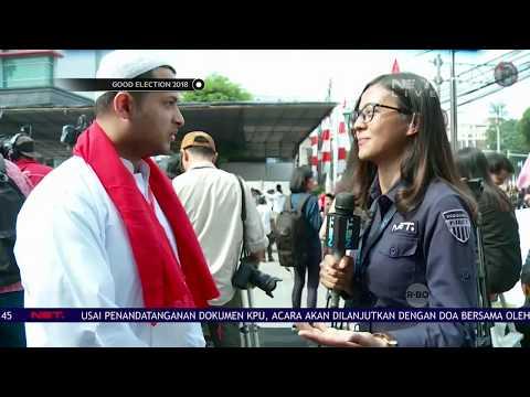 Good Election 2018 - Live Report: Relawan Jokowi-Ma'ruf Amin Meramaikan Gedung Joang 45