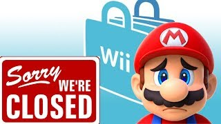The Nintendo Wii Shop is Closed... Forever