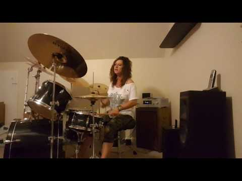 Bryan Adams Thought I Died and Gone to Heaven ~ Drum Cover by Denise
