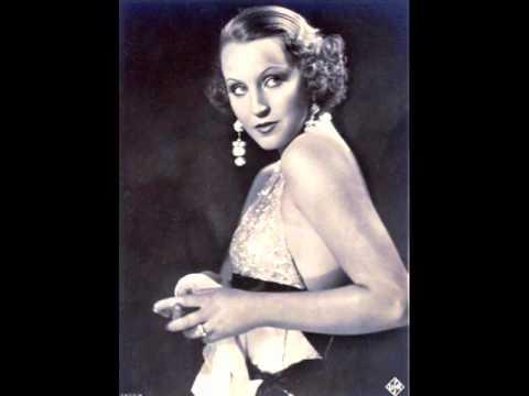 Brigitte Helm - Fidèle - Tango 1933