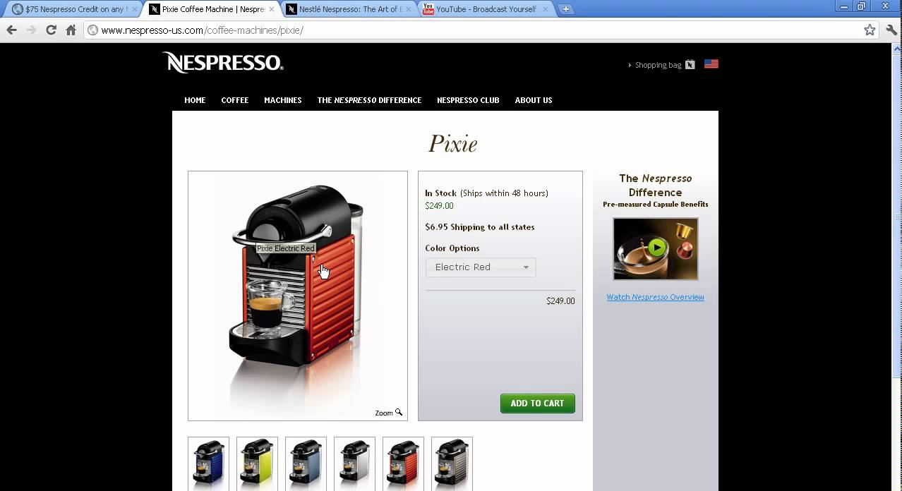 Coupon Nespresso Capsules