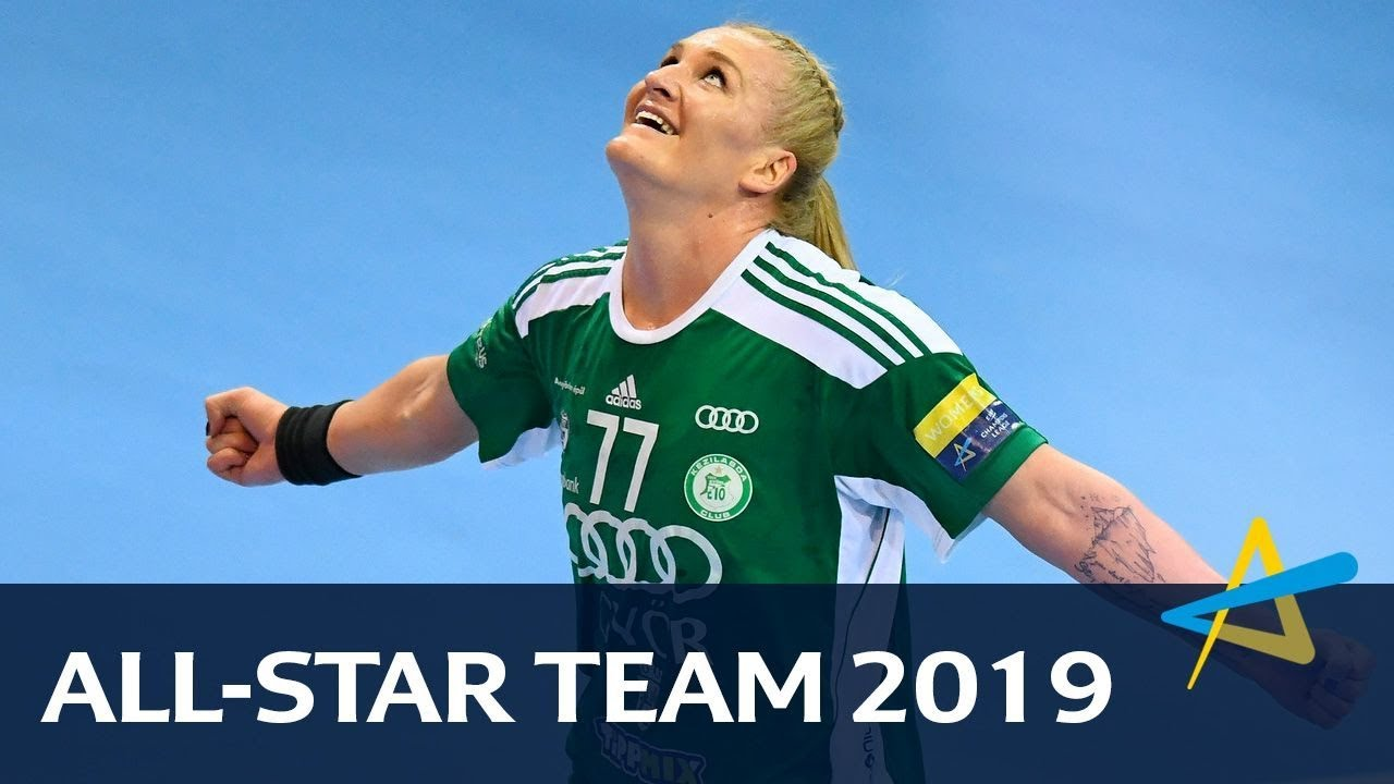 All-star Team | DELO WOMEN'S EHF FINAL4 2019 - YouTube
