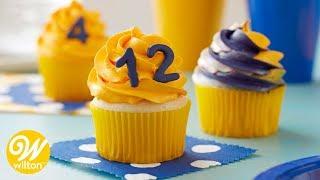 How to Make School Spirit Cupcakes | Wilton