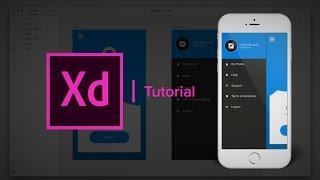 إنشاء مجموعة العمل القائمة الشريط الجانبي - Adobe Xd التعليمي