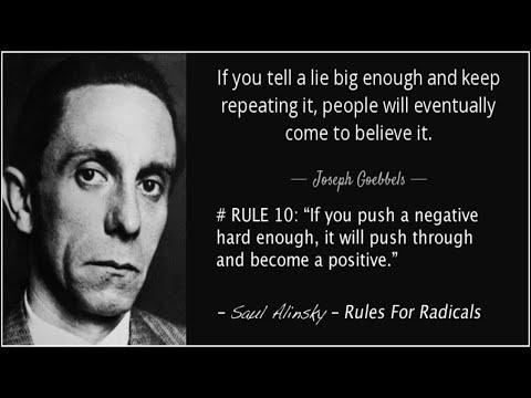 """Saul Alinsky - """"I'd Organize Hell"""" TV Interview 1966 (An American """"Joseph Goebbels"""")"""