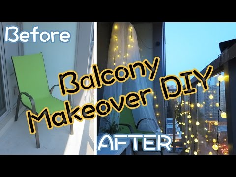 Balcony Makeover DIY on a Budget | Sunny DIY