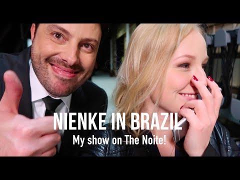 NIENKE IN BRAZIL VLOG 2 | My show on The NOITE with Danilo Gentili!