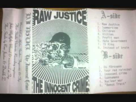 Raw justice  Profit man