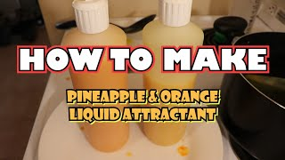HOW TO MAKE- Liquid Attractant For Carp Fishing