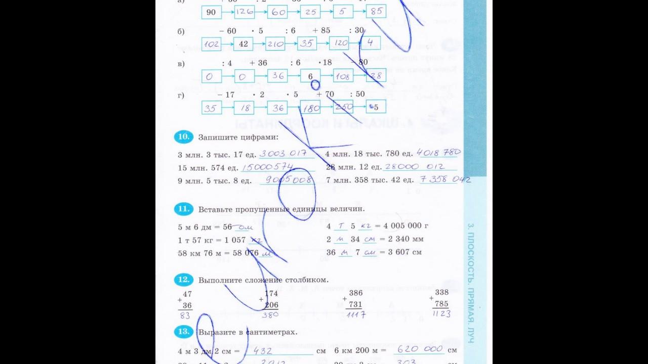Готовые домашние задания 5 класс по математике кнутова