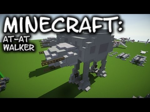 Minecraft: Star Wars: AT-AT Tutorial