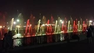 Damadam Mast Qalander Music with Dancing Fountain Greater iqbal park lahore Pakistan